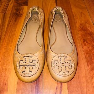 Tory Burch Miller sandals in brown leather